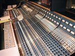 The custom 56 input Neve 8068 at Capitol Studio B in Hollywood