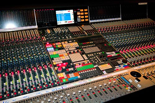 One of the great scoring stages that John loves to work at: Warner Bros Eastwood scoring stage.